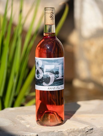 1851 Vineyards: 2018 Rose